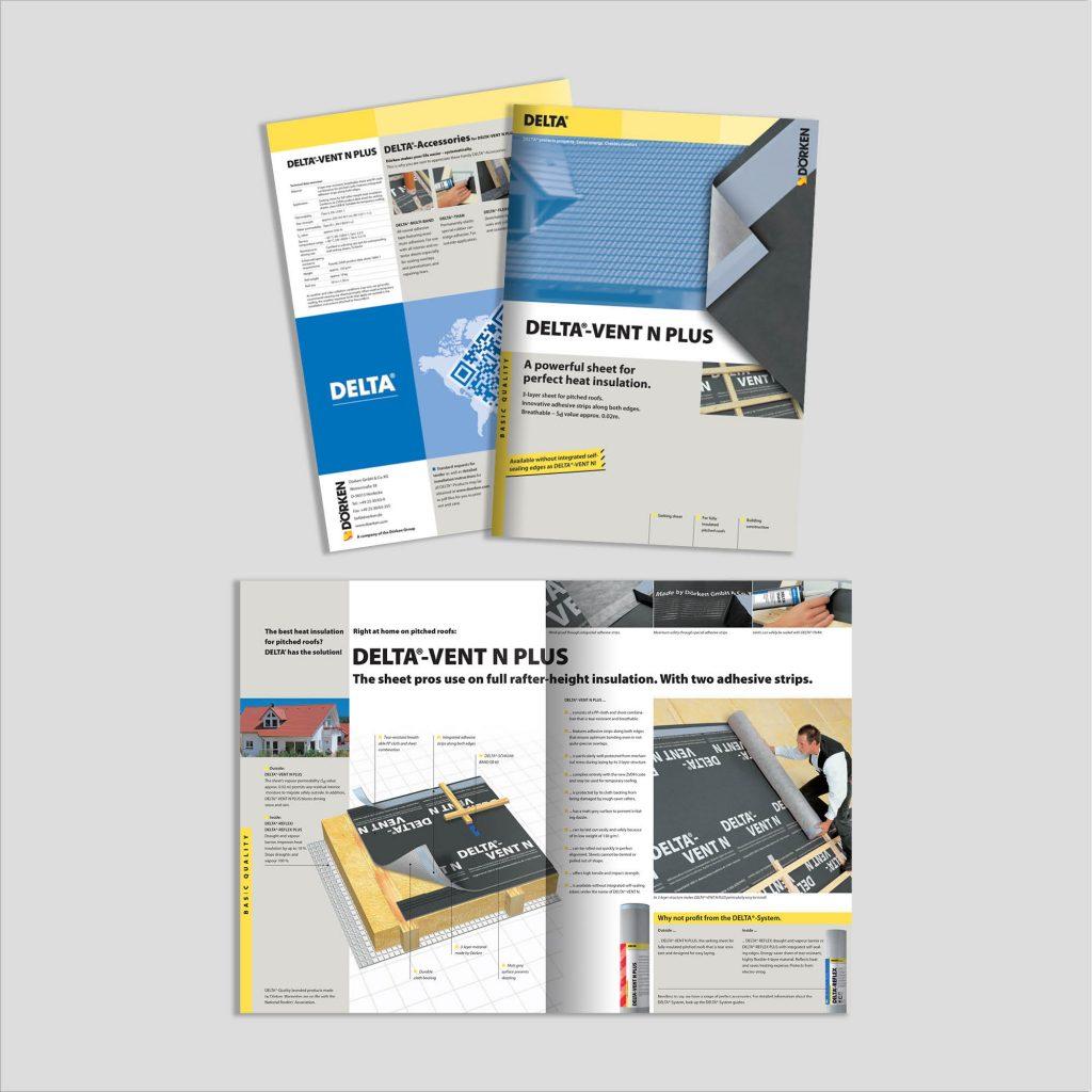 Graphic design: broșură izolații