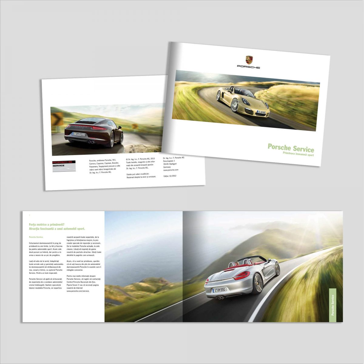 Graphic Design: Broșură Service Auto