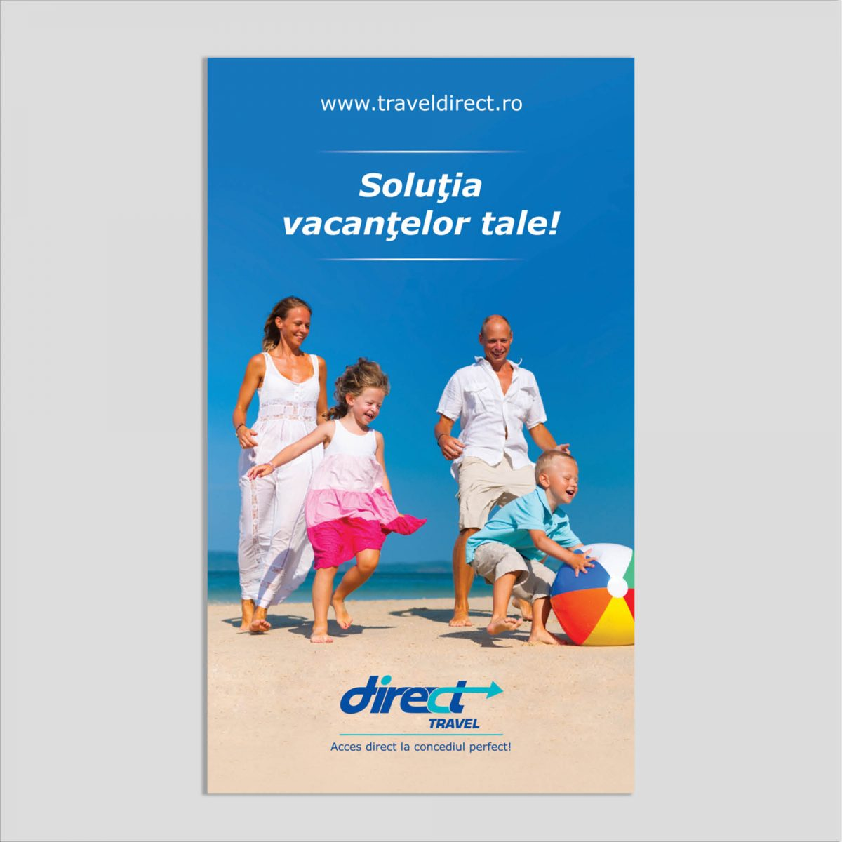 Graphic Design: Flyer Vacanțe