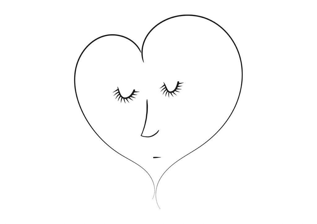 Ilustrație digitală: inima